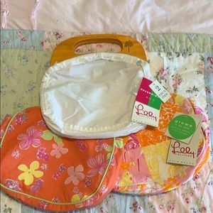 Lilly Pulitzer Bermuda bag with 2 covers